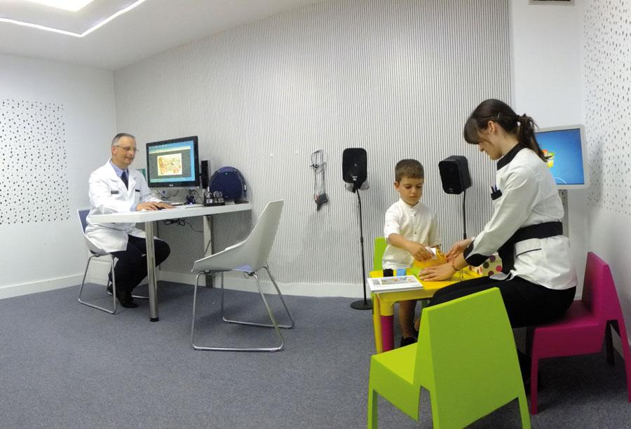 sala audiometria infantil