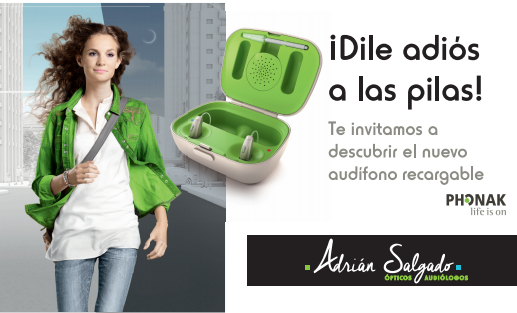 audifono recargable