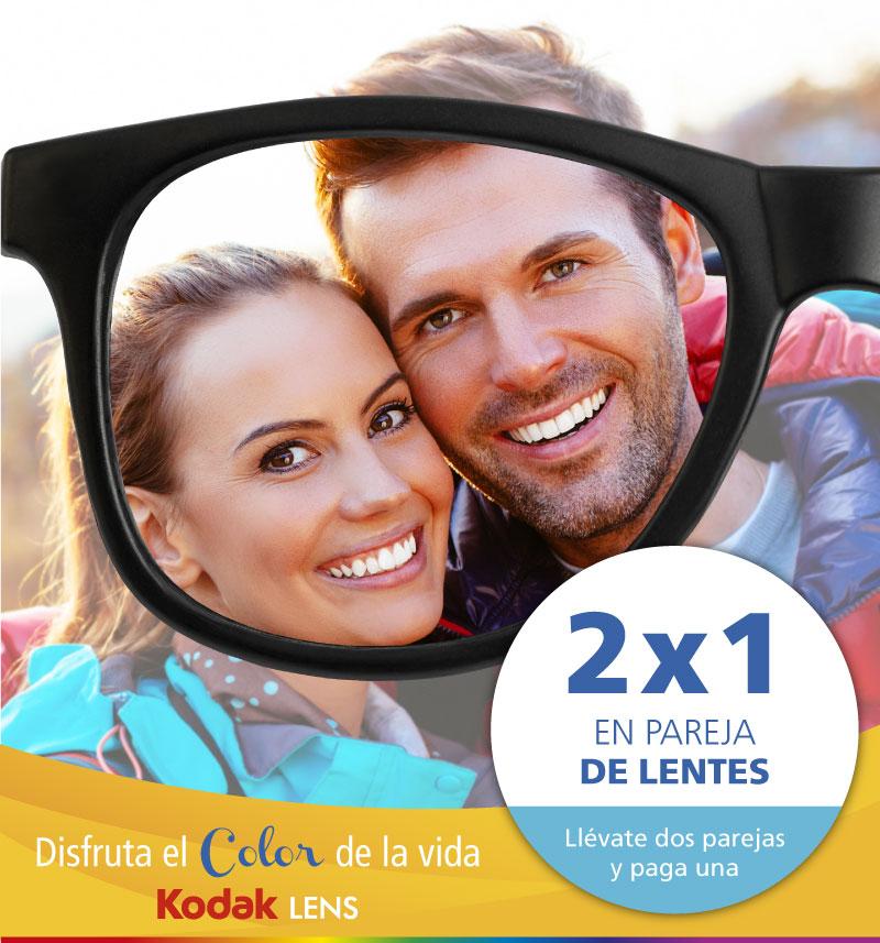 Promoción 2x1 en pareja de lentes