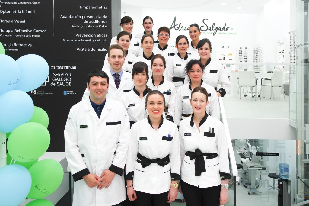 equipo-adrian-salgado-clinica-coruña