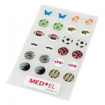 Etiquetas adhesivas de diseño